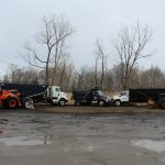 Cleveland Landscape Materials & Supplies Sales Yard Supply Delivery Trucks